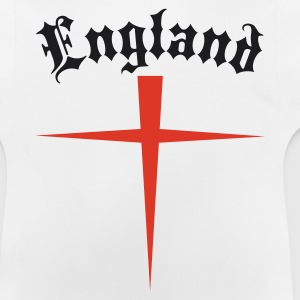 OLD  ENGLAND SAINT GEORGES CROSS Long Sleeve Shirt - Baby T-Shirt
