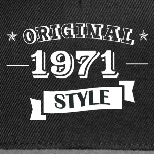 Original pull style 1971 & hoodies - Casquette snapback
