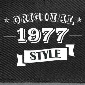 Original pull style 1977 & hoodies - Casquette snapback