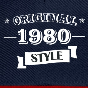 Original pull style 1980 & hoodies - Casquette snapback