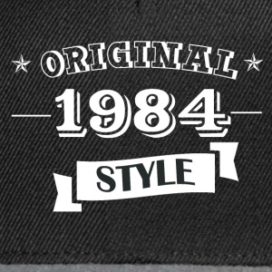 Original style 1984 T-Shirts - Casquette snapback
