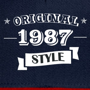 Original style 1987 T-Shirts - Casquette snapback