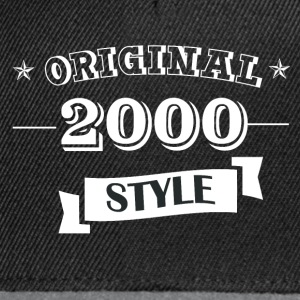 Pull style original 2000 & hoodies - Casquette snapback
