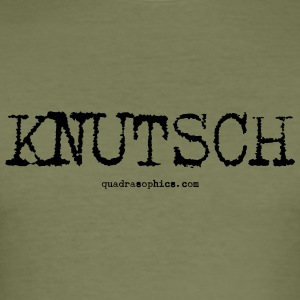 Knutsch - Männer Slim Fit T-Shirt
