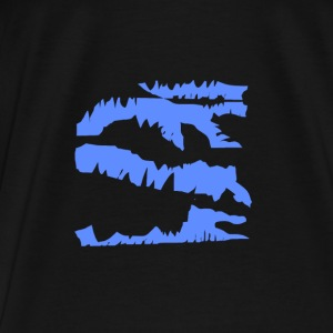 Blue Dragon Pullover Design - Männer Premium T-Shirt