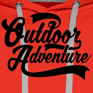 Outdoor Adventure T-Shirts - Männer Premium Hoodie