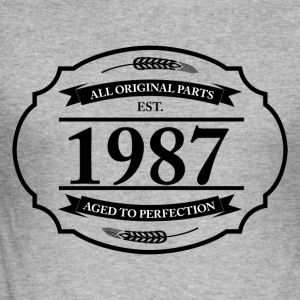All original Parts 1987 Pullover & Hoodies - Männer Slim Fit T-Shirt