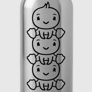 Childhood, children, childhood, childhood, cute, c T-Shirts - Water Bottle