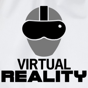 Virtual Reality (Glasses) T-Shirts - Drawstring Bag