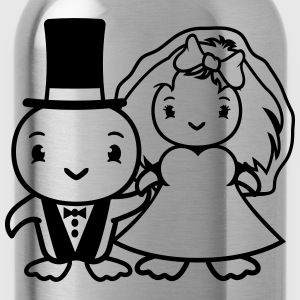 Couple, couple, love, affection, engaged, celebrat T-Shirts - Water Bottle