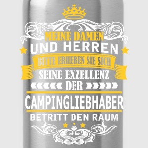 CAMPINGLIEBHABER T-Shirts - Trinkflasche