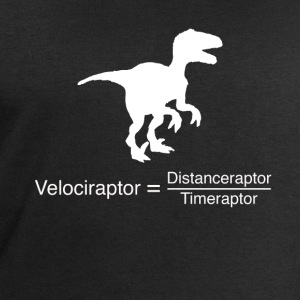 velociraptor funny science - Men's Sweatshirt by Stanley & Stella