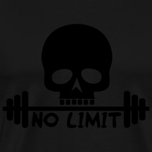 No Limit / Bodybuilding / Flex / Fitness Sportbekl - Männer Premium T-Shirt