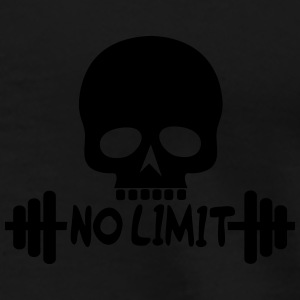 No Limit / Bodybuilding / Flex / Fitness Pullover  - Männer Premium T-Shirt