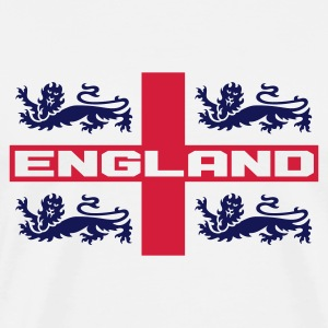 4 LIONS CROSS ENGLAND Sports wear - Men's Premium T-Shirt