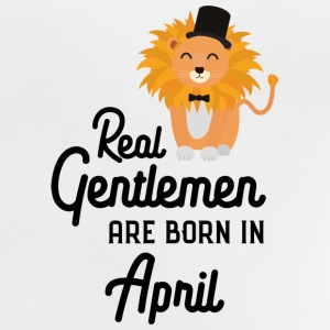 Real Gentlemen are born in April S77k6 Shirts - Baby T-Shirt
