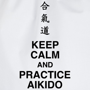 Aikido / Aikidoka / Martial art / Fight Body neonato - Sacca sportiva