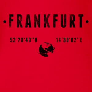 Frankfurt Shirts - Organic Short-sleeved Baby Bodysuit