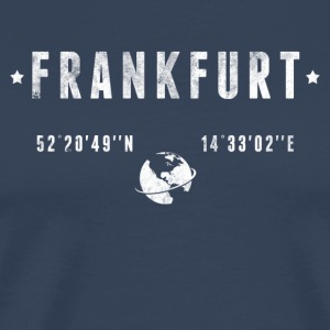 Frankfurt Long sleeve shirts - Men's Premium T-Shirt