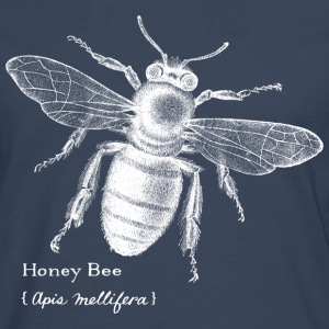 Animal Planet Honig bee - Premium langermet T-skjorte for menn