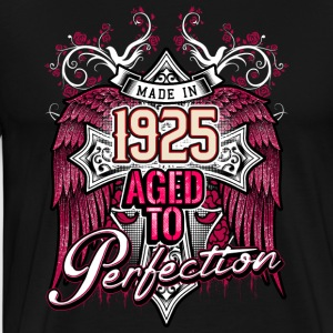 Made in 1925 aged to perfection - birthday gift present - RAHMENLOS Pullover & Hoodies - Männer Premium T-Shirt