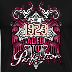 Made in 1923 aged to perfection - birthday gift present - RAHMENLOS Pullover & Hoodies - Männer Premium T-Shirt