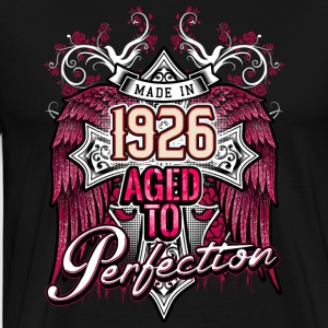 Made in 1926 aged to perfection - birthday gift present - RAHMENLOS Pullover & Hoodies - Männer Premium T-Shirt
