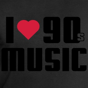I Love 90s Music Tee shirts - Sweat-shirt Homme Stanley & Stella