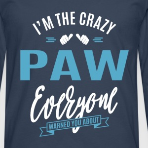 Crazy Paw  - Men's Premium Longsleeve Shirt