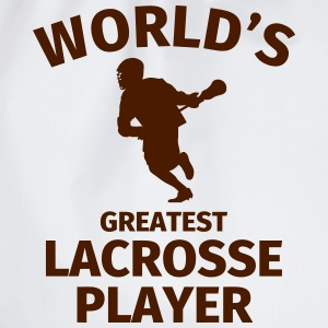 World's Greatest Lacrosse Player T-Shirts - Turnbeutel