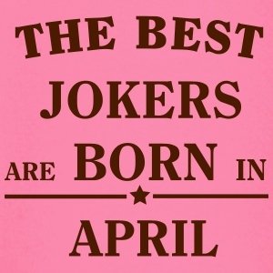 The Best Jokers Are born in APRIL T-Shirts - Baby Long Sleeve T-Shirt