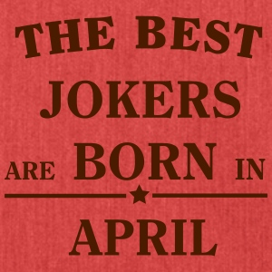 The Best Jokers Are born in APRIL T-shirts - Schoudertas van gerecycled materiaal