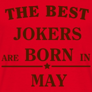The Best Jokers Are born in MAY Sweaters - Mannen T-shirt