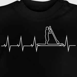 SUP - Stand up paddle - Heartbeat Shirts - Baby T-Shirt