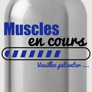 Muscles en cours,musculation  - Gourde