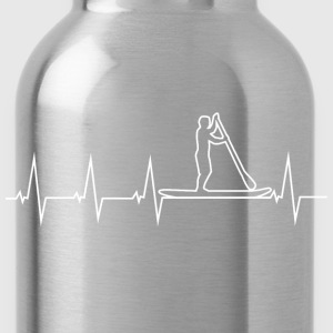 SUP - Stand up paddle - Heartbeat Shirts - Water Bottle