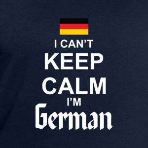 I Can't Keep Calm I'm German T-shirts - Mannen sweatshirt van Stanley & Stella