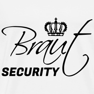 Braut Security! JGA Pullover & Hoodies - Männer Premium T-Shirt