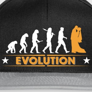 Mariage - evolution Tee shirts - Casquette snapback