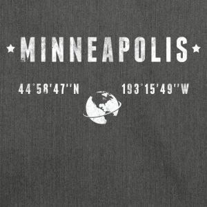 Minneapolis T-shirts - Skuldertaske af recycling-material