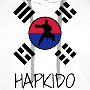 Hapkido / Hapkidoin / Martial Arts / Fight Tabliers - Sweat-shirt à capuche Premium pour hommes