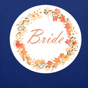 bride_wreath_flower_power_orange T-shirts - Tas van stof
