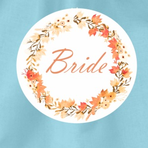 bride_wreath_flower_power_orange T-skjorter - Gymbag