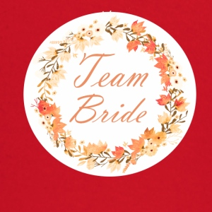team_bride_wreath_flower_power_orange T-shirts - T-shirt