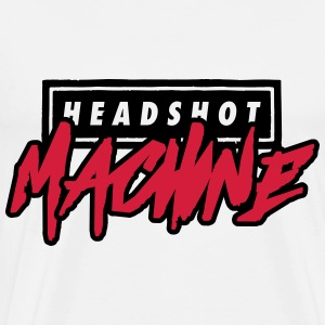 headshot machine Pullover & Hoodies - Männer Premium T-Shirt