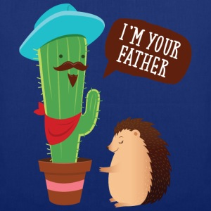 I'm Your Father | Cactus Hedgehog Illustration Koszulki - Torba materiałowa