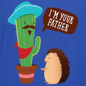 I'm Your Father | Cactus Hedgehog Illustration T-shirts - Vrouwen tank top van Bella