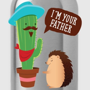 I'm Your Father | Cactus Hedgehog Illustration T-shirts - Drinkfles