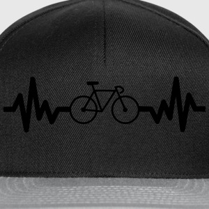 Bike is life cycling t-shirt  - Snapback Cap
