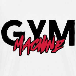 GYM MACHINE Pullover & Hoodies - Männer Premium T-Shirt